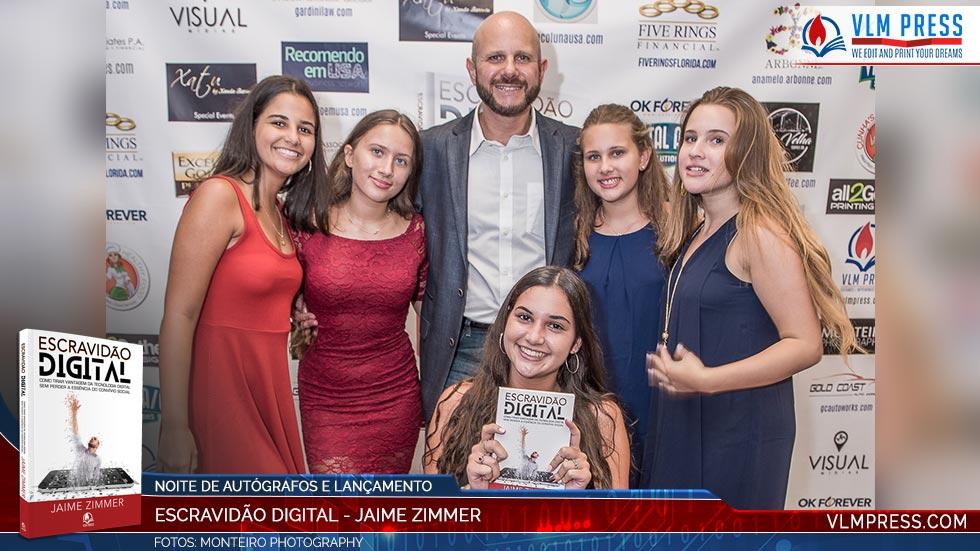 Jaime Zimmer lança segundo livro: Escravidão Digital